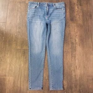 American Eagle Super Stretch High Waisted Jegging